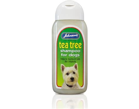 tea tree for dogs johnsons tea tree shoo for dogs 400ml
