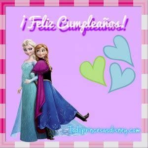 imagenes de feliz cumpleaños hermana frozen im 225 genes de feliz cumplea 241 os frozen princesas disney