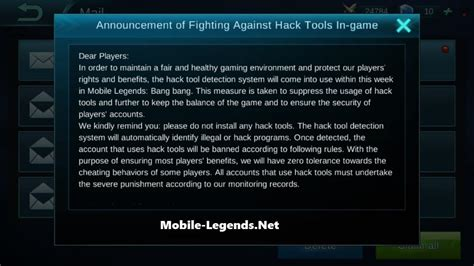 mobile legend hack tool fighting against hack tools in 2018 mobile legends