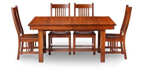 mission kitchen table mission style oak furniture craftsman design color