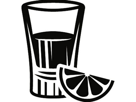 mixed drink clipart black and white shot glass 1 mixed drink alcohol liquor ice bar pub tavern