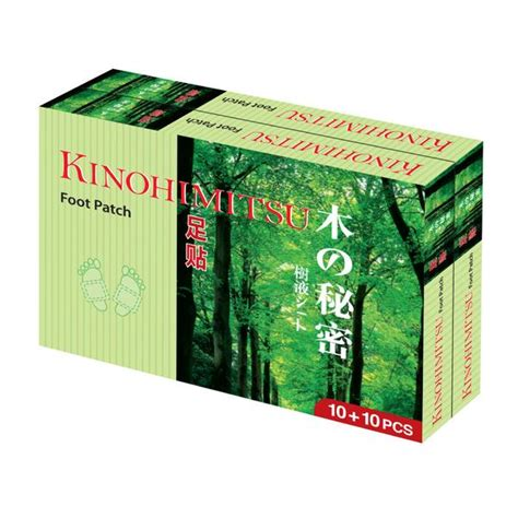 Kinohimitsu Detox Foot Patch Review by Foot Patch 10 S 10 S Kinohimitsu Malaysia