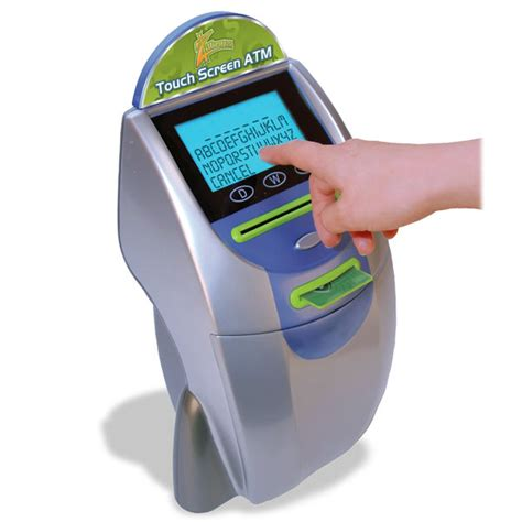 atm bank zillions touchscreen atm bank the green