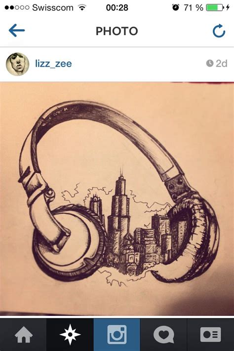 radio tattoos designs 25 best ideas about headphones on dj