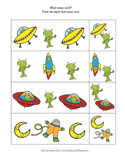 kindergarten activities on space preschool space worksheets outer space printable