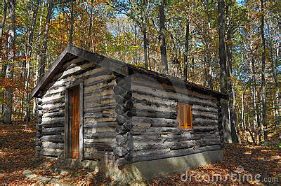 Secret Cabin by Secluded Log Cabin Stock Images Image 16601034