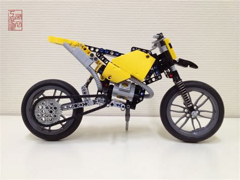 lego technic motocross bike lego technic motorcycles for the 42007