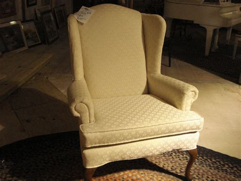 slipcover for queen anne chair queen anne wingback chair slipcovers