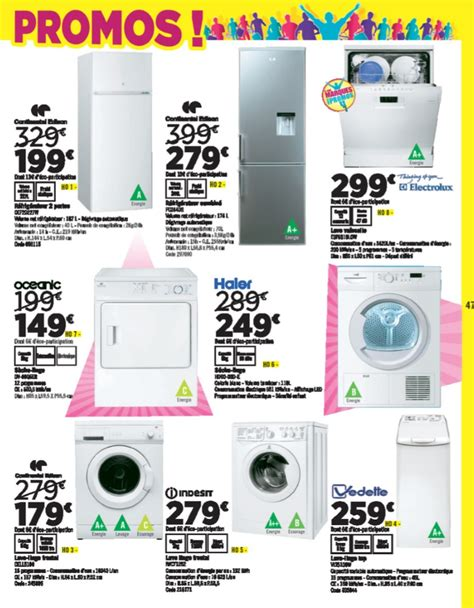 aspirateur auchan 2015 catalogue geant casino electrom 233 nager 07 mars 2015