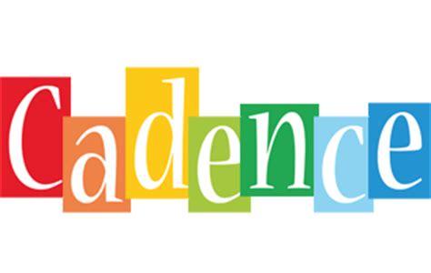 cadence layout logo cadence logo name logo generator smoothie summer