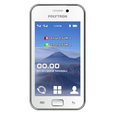 spesifikasi polytron pg3000t handphone dual sim tv dan