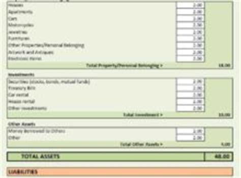 Net Worth Excel Template by Excel Templates Free Excel Templates