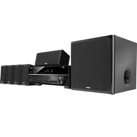 yamaha yht 4930ubl 5 1 channel home theater system yht 4930ubl