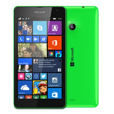 Www Hp Nokia Lumia 535 microsoft launches branded lumia 535 smartphone in india gadgettechnolz
