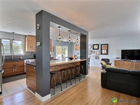 comptoire de l info photo salon cuisine ouverte attachant cuisines ouvertes