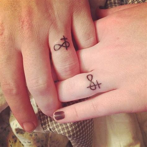 matching cross tattoos best 25 infinity cross ideas on cross