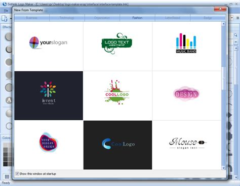 Logo Maker Template sothink logo maker design unlimited logos for free