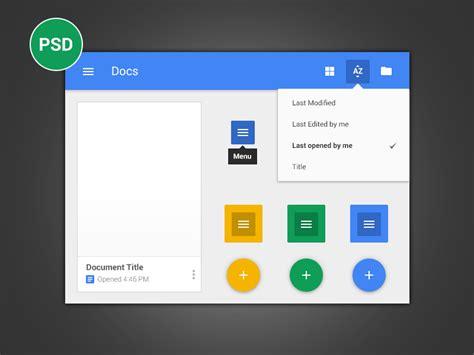 Google Design Document   google docs android l style by tobia crivellari dribbble