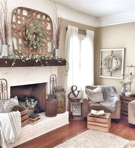 farmhouse living room decor 55 cozy modern farmhouse apartmen living room decorating