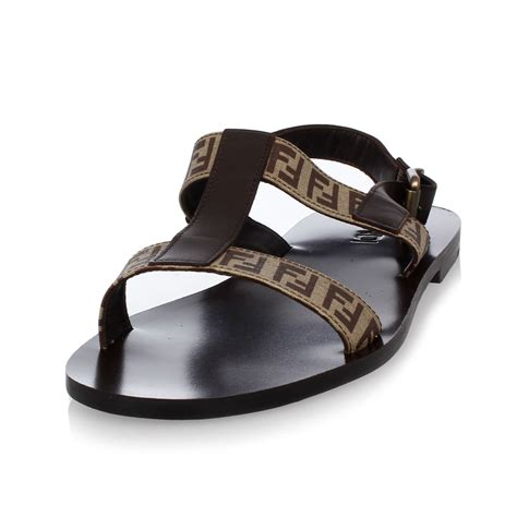 fendi sandals mens fendi leather sandals glamood outlet