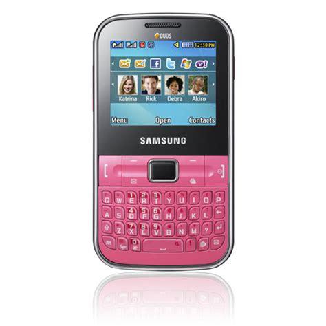 Harga Samsung Ch samsung ch t 322 ponsel qwerty dual sim terbaru pertama