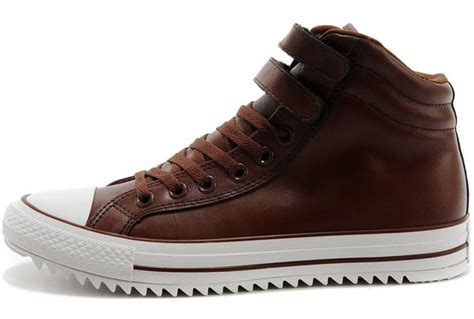 Converse Black Cover Brown warm converse velcro chuck all