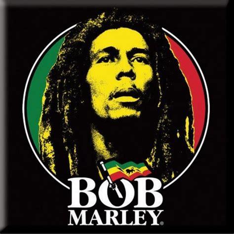 Rock Home Decor bob marley logo face magnet