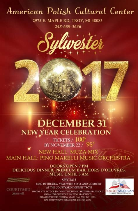 new year dinner poster new year s buy your tickets today
