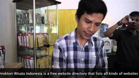 Indra Tualang Si Doktor Kopi mengenal aneka kopi lung dr coffee