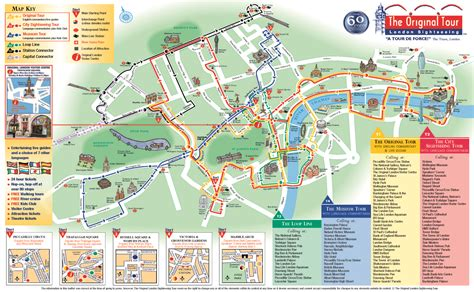 City Sightseeing London Hop On Hop Off Tour with Free ...