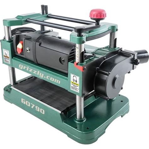 g0790 grizzly 12 1 2 quot benchtop planer with dust collection