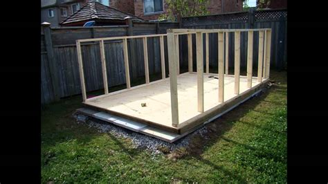 how to build a backyard shed building a backyard garden shed