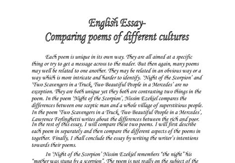 have at least one other person edit your essay about essay essay different cultures have at least one other person