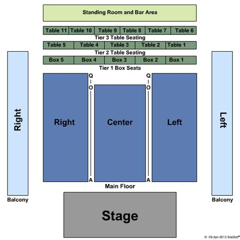 Fillmore Box Office by Maryland Concert Tickets Seating Chart The Fillmore