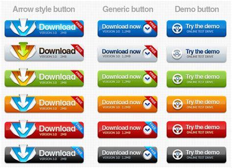 provare web scaricare e provare i pulsanti arrotondati demo per il web