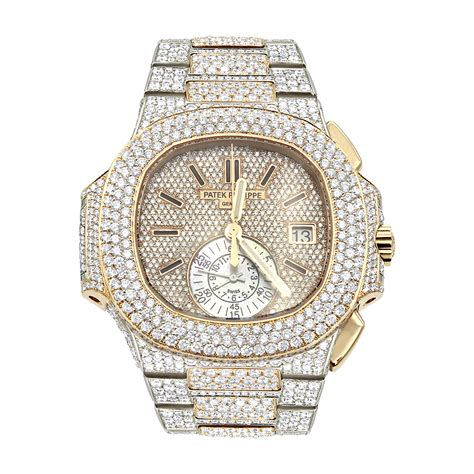 Phillipe New She Is 18 by Patek Philippe Nautilus Iced Out For