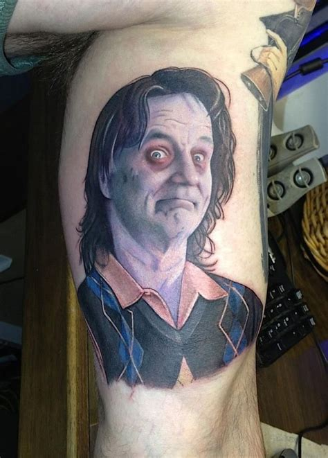 bill murray tattoo 191 best horror tattoos images on horror