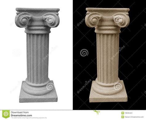 What Does Pedestal Isolated Pedestal Stock Images Image 18045424