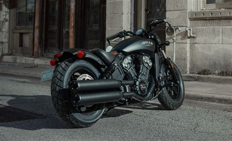 Indian Motorrad Scout Bobber by 2018 Indian Scout Bobber Launched At India Bike Week 2017