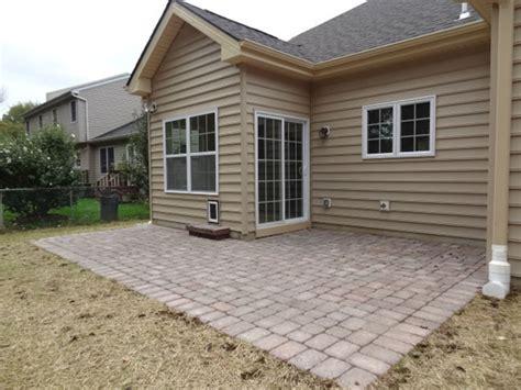 Concrete paver patio installation warrington pa