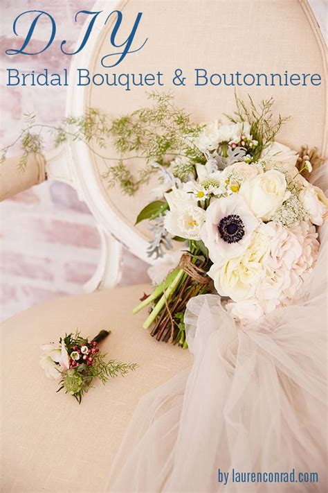 Wedding Bell Flowers by Wedding Bells Diy Bridal Bouquet And Boutonni 232 Re