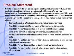 Problem Statement For Research Paper by Problem Statement