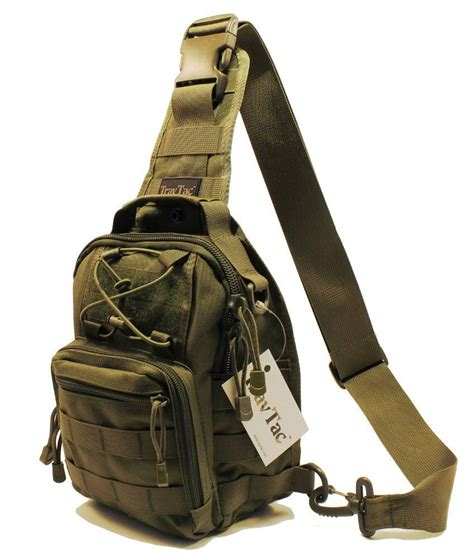 Premium Sling Bag For travtac stage i sling bag premium small edc tactical