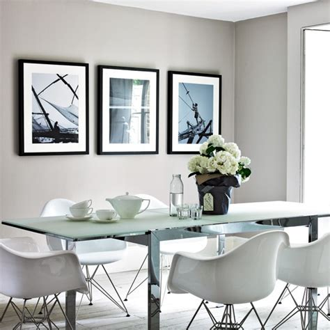 Gray Dining Room by Cool Grey Dining Room Housetohome Co Uk