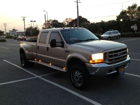 ford f 350 diesel dually sell used 1999 ford f 350 super duty dually 7 3l diesel