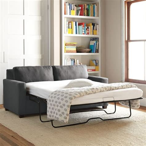 Henry Sleeper Sofa Reviews by West Elm Henry Deluxe Sleeper Sofa Review
