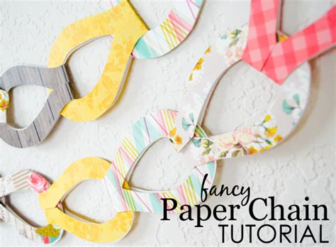 How Do You Make Paper Chains - diy fancy paper chains project nursery