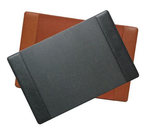 grain leather desk pad executive desk pads custom conference desk blotters