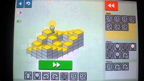 Light Bot Hour Of Code by Light Bot 2 Android Version World 2 Procedures