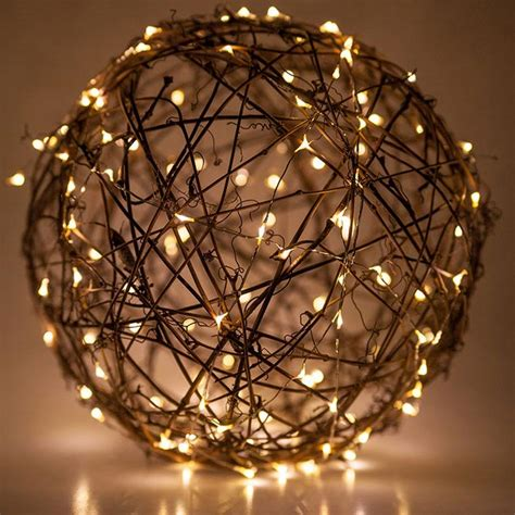 how to light balls the magic of lights for decorating